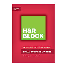 H R Block Premium Business 2016