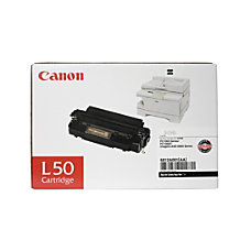 Canon L50 Black Toner Cartridge 6812A001AA