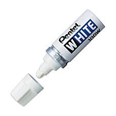 Pentel Felt Tip White Marker Broad