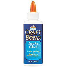 Elmers Tacky Glue 4 Oz Bottle