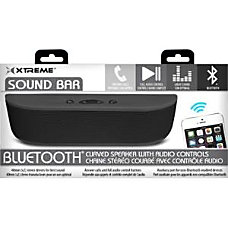 Xtreme Cables Sound Bar Speaker Portable