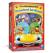 Disney Fun Skills Preschool 1st Grade