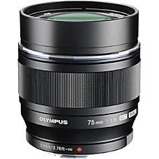 Olympus MZUIKO DIGITAL 75 mm f18