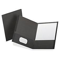 TOPS Oxford Linen Twin Pocket Folders