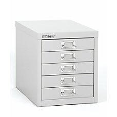 Bisley Steel Desktop Storage Cabinet 5