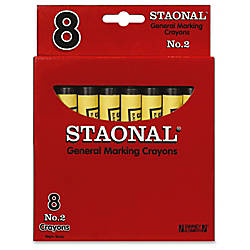 Crayola No 2 Staonal Marking Wax