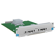 HP ProCurve 4 Port Interface Module
