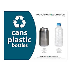 Recycle Across America Cans And Plastics