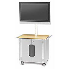 Bretford Flat Panel Cabinet Cart