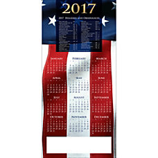 Personalized Calendar Cards With Envelopes Patriotic