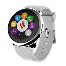 MyKronoz ZeRound Smart Watch SilverWhite