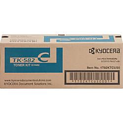 Kyocera TK 582C Original Toner Cartridge