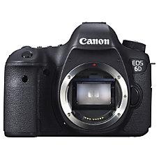 Canon EOS 6D 206 Megapixel Digital