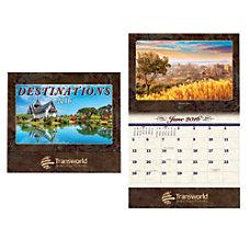 Holland USA Gold Imprint Destinations Calendar