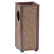 United Receptacle 30percent Recycled Sand Urn