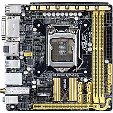 Asus Z87I DELUXE Desktop Motherboard Intel