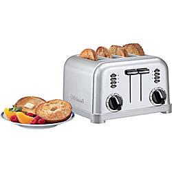 Cuisinart Metal Classic CPT 180W Toaster