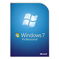 Microsoft® Windows® 7 Professional, Full Version, Traditional Disc