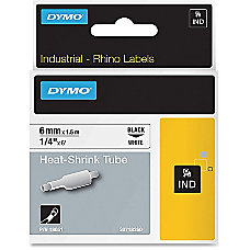 Dymo Heat Shrink Tube Label