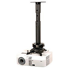 Peerless Adjustable Height Projector Ceiling Mount