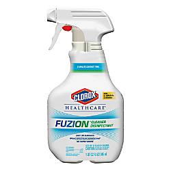 Clorox Healthcare Fuzion Cleaner Disinfectant Spray