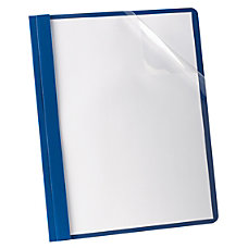 Oxford Deluxe Clear Report Cover With