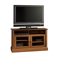Sauder Carson Forge Collection Wood TV