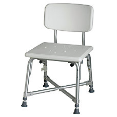 Medline Bariatric Aluminum Bath Bench With