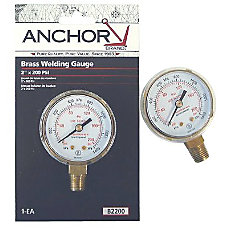 Anchor 2X4000 Brass Replacement Gauge