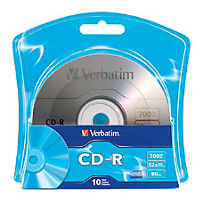 Verbatim 96932 CD Recordable Media CD