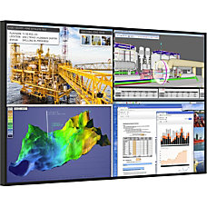 Planar UR9850 Professional 4K 98 Display