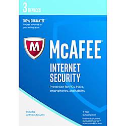 McAfee Internet Security 2017 3 Device