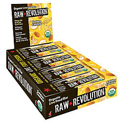 Raw Revolution Bars Golden Cashew 18