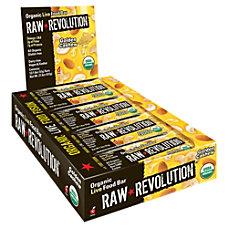 Raw Revolution Bars Golden Cashew 18