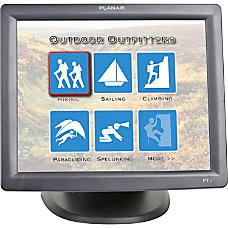 Planar PT1700MX 17 LCD Touchscreen Monitor
