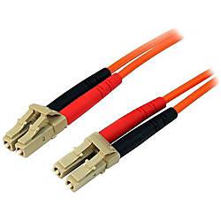 StarTechcom 1m Fiber Optic Cable Multimode