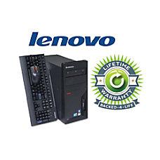 Lenovo ThinkCentre Refurbished Desktop Computer With