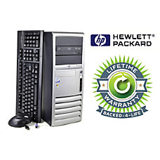 HP Compaq Refurbished Desktop Computer With