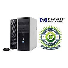 HP Compaq Refurbished Desktop Computer With