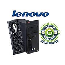 Lenovo ThinkCentre Refurbished Desktop Computer With
