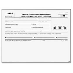 TOPS 1094B Transmittal Tax Form 25