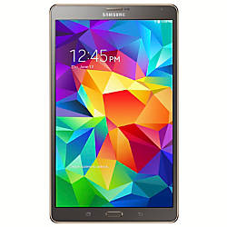 "Samsung Galaxy Tab® S 8.4"" Tablet, 16GB, Titanium Bronze"