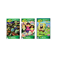 Crayola Giant Coloring Book Nickelodeon 13