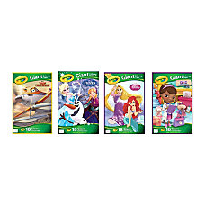 Crayola Giant Coloring Book Disney Assorted