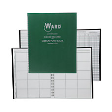 Ward Class Record And Lesson Plan