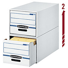 Bankers Box StorDrawer 60percent Recycled File