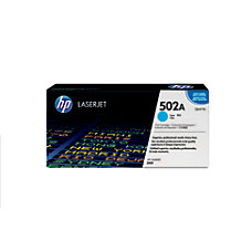 HP 502A Cyan Original Toner Cartridge