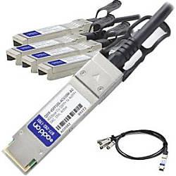 AddOn Cisco QSFP 4SFP10G ACU10M Compatible