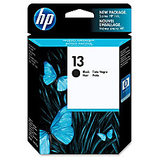 HP 13 Black Original Ink Cartridge
