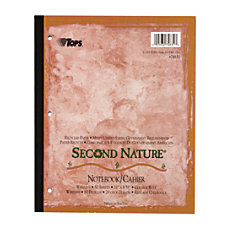 TOPS Second Nature 100percent Recycled Writing